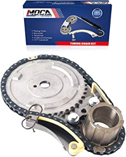 MOCA Engine Timing Chain Kit for 2007-2013 Chevrolet Silverado & Cadillac Escalade & Savana 3500 4.8L 6.0L 6.2L V8 OHV