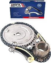 MOCA Engine Timing Chain Kit for 2007-2013 Chevrolet Silverado & Cadillac Escalade & Savana 3500 4.8L 6.0L 6.2L V8 OHV