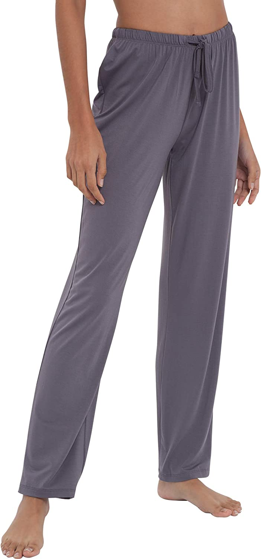 GYS Soft Pajama Pants for Women Comfy Bamboo Lounge Sleep Pants Casual Elastic Pj Bottoms Drawstring Sleepwear