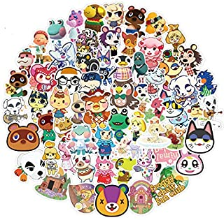 Qucuek Animal Crossing Stickers - 100pcs CNCK Cool Game Stickers for Water Bottles Waterproof and Perfect for Laptop Hydro Flask Car Phone