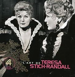 L'Art de Teresa Stich-Randall (Coffret 4 CD)