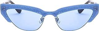 Luxury Fashion   Miu Miu Womens MU04US1202J159 Blue Sunglasses   Fall Winter 19