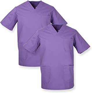 Amazon.es: Morado - Sanitarios / Ropa y uniformes de trabajo: Ropa