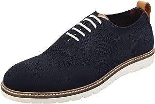 LONDON BROGUES Healey Mens Shoes Navy