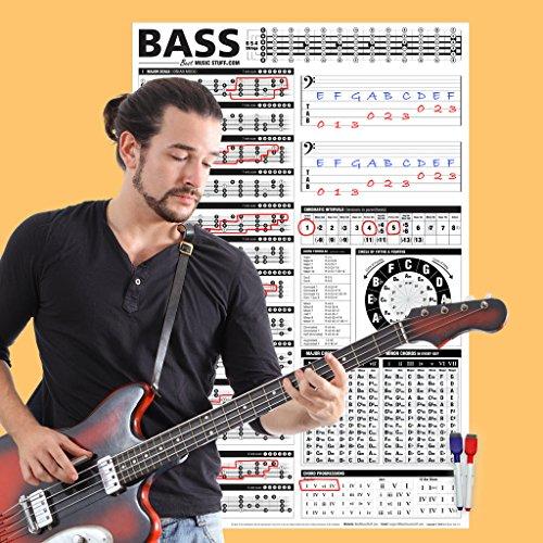 bass chart poster - 5