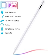 Stylus Pen Compatible with Apple iPad, iPad Pencil with No Lag, High Precision, Tilt, Palm Rejection, for iPad 6th, iPad M...