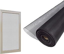 BBGS Raamscherm, wasbaar vliegenscherm venster, insectennet gaas schermvenster, eenvoudige installatie houden bugs/vliege...