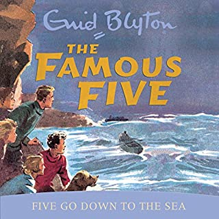 Famous Five: Five Go Down To The Sea cover art