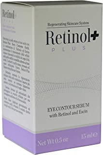 Beauty Spa Retinol Plus Eye Contour Serum with Retinol and Escin 0.5 oz