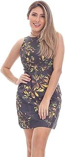 Vestido Clara Arruda Detalhe Cava Estampado 50292