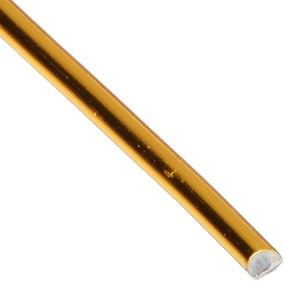 Dazzle-It! Aluminum Wire 18ga Round 30ft Gold, 30'