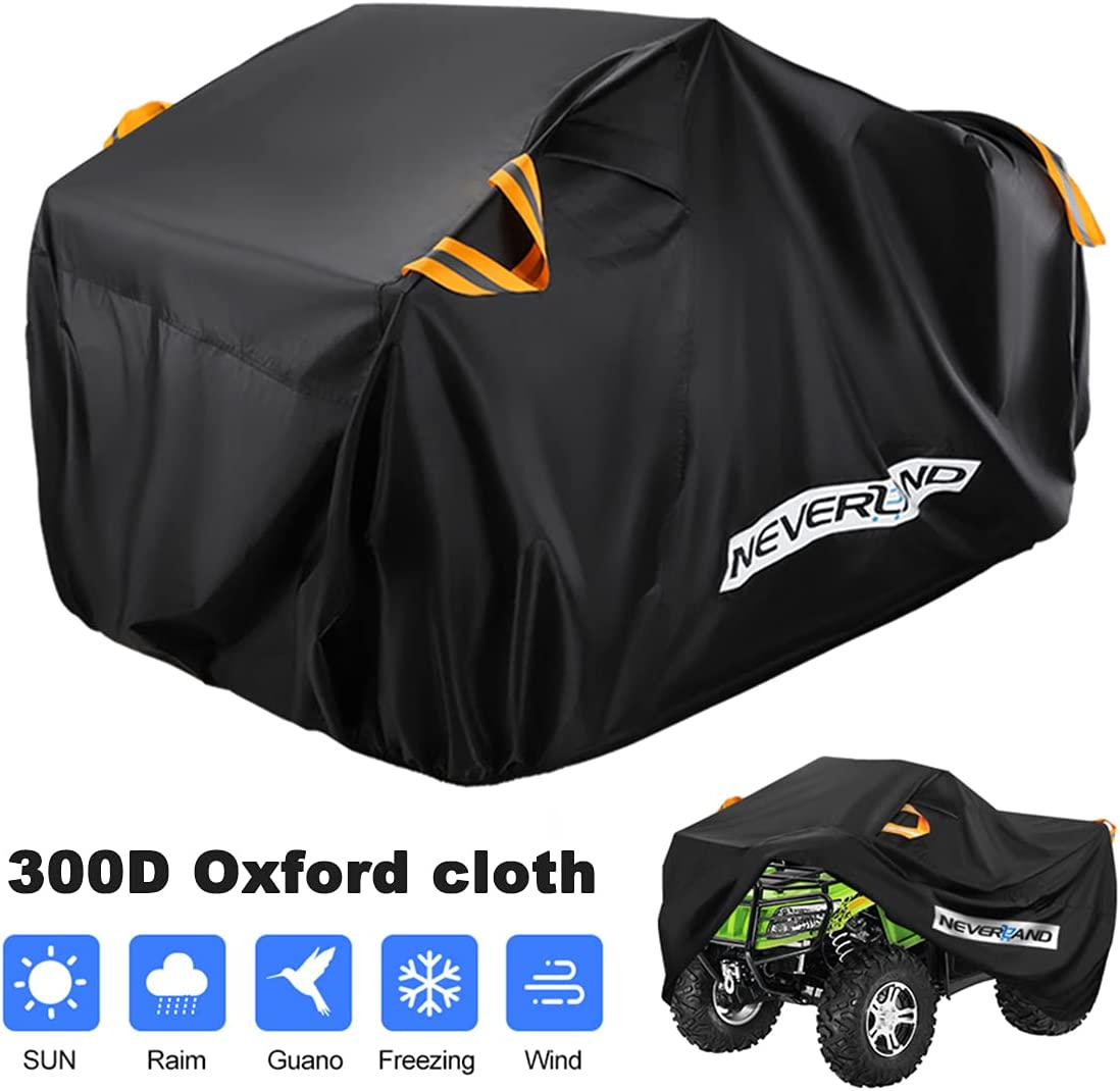 NEVERLAND Waterproof National products ATV Cover Outdoor Heavy 300D Duty Tear-Res Max 87% OFF