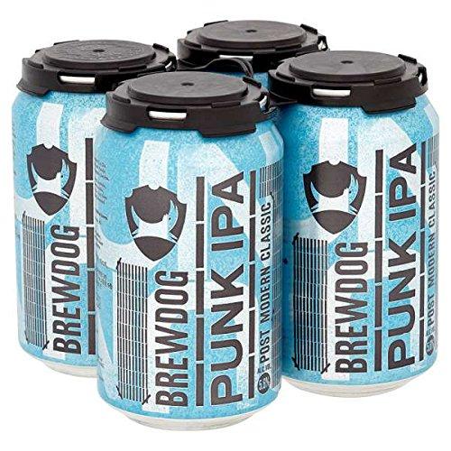 Brewdog Punk IPA 4 x 330ml (Packung mit 24 x 330 ml)