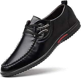 Fashion Casual Shoes Men's BusinessWith Wild Soft Shoes Men's Boots (Color : Black, Size : 45)