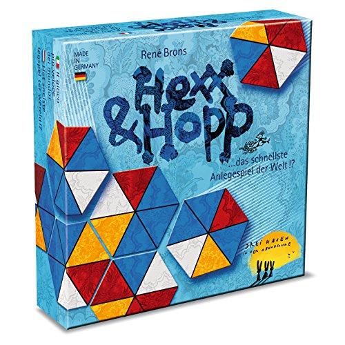 Drei Hasen in der Abendsonne 608880015 - Kartenspiel - Hexx und Hopp