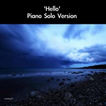 Best hello piano solo Reviews