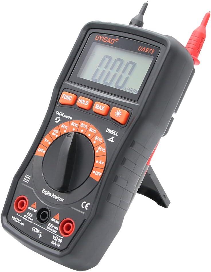 KESOTO Digital Automotive Multimeter Volt National uniform free shipping Amp Rev Engine Meter Great interest