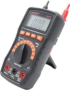 Portable Digital Automotive Tester Voltage Current Multimeter Meter Dwell Angle Engine Rev Tester