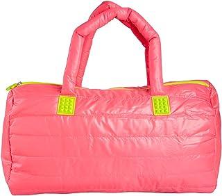 Fuel Hot Pink Gym Bag Duffle Zipper Weekender for Women Duffel Weekend Carry On with Zipper Pocket