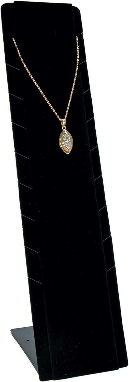Schwarz Velvet Multi Notch Adjustable Pendant Stand - BD199 B004WKJWJE   Exquisite (in) Verarbeitung