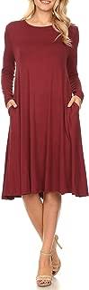 Best women's short sleeve midi dress Reviews