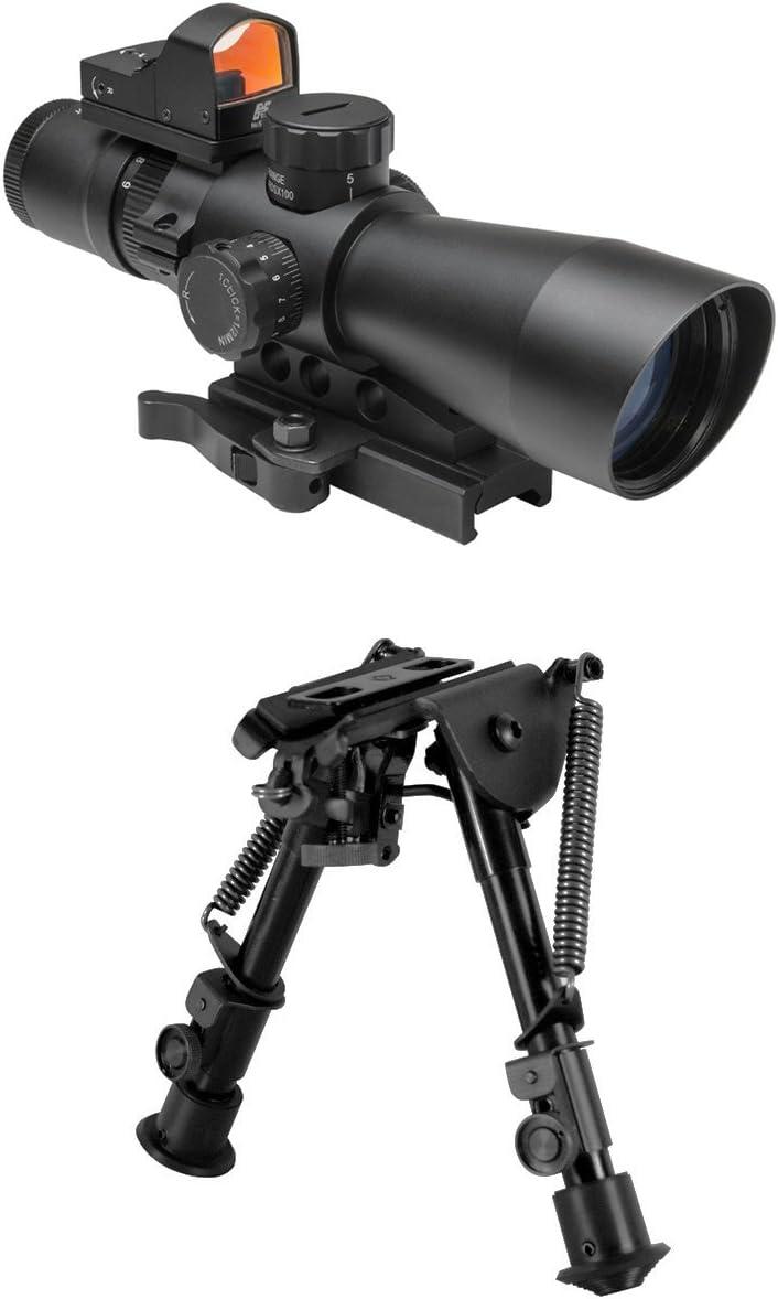 M1SURPLUS Opitcs Kit with 3-9x42 Rifle Scope Tactical Free Tulsa Mall Shipping Cheap Bargain Gift Illuminat