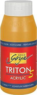KREUL Solo Goya Triton S 17310 Peinture Acrylique à séchage Rapide avec Effet Brillant, qualité Studio, Multi-usages et Bi...