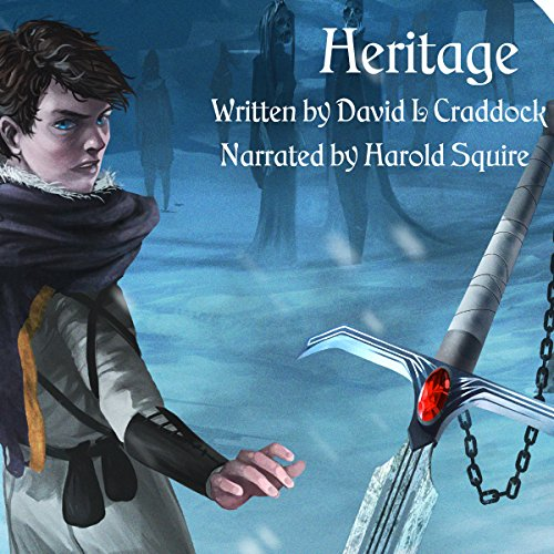Heritage: Book One of the Gairden Chronicles audiobook cover art