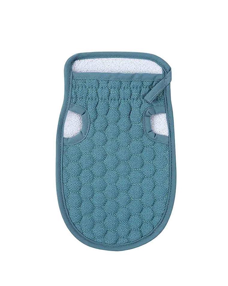 Iusun Bath Shower Gloves Sponge Strong Cleaning Scrubber Dual Use Deep Clean Pouf Mesh Body-Scrub Exfoliate Invigorate Skin Ball Lather Towel Wash Cloths Bathing Accessories