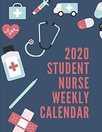 Best Stethoscope For Nursing Students 2020 2020 Student Nurse Weekly Calendar: Nursing RN LPN Student Planner