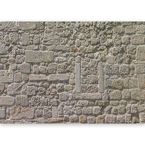 murando® Fotomural 500x280 cm - Top - Papel tejido-no tejido. Fotomurales - XXL -Papel pintado - Piedra Textura Muro f-A-0454-a-a
