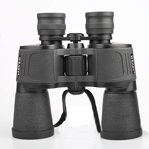 JSSFQK Télescope binoculaire 10x50, Ultra-Clair imperméable, adapté à l'extérieur Télescope