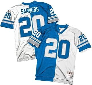 Mitchell & Ness Barry Sanders Detroit Lions Split Home & Away Jersey