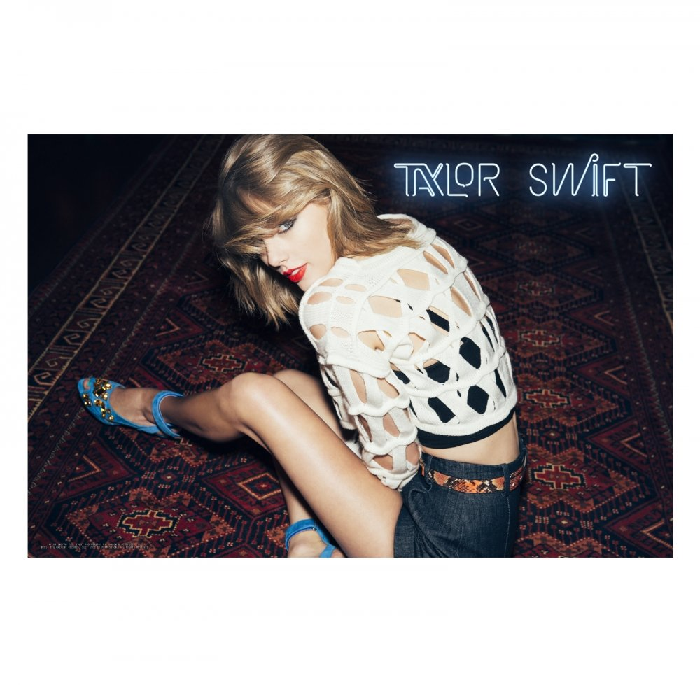 """Taylor Swift - Official """"1989"""" Sitting Wall Poster (17 x 26)"""