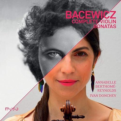 """Résultat de recherche d'images pour """"Grazyna Bacewicz: Complete violin sonatas"""""""