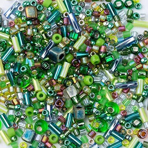 10 g Bugle Perles de verre japonais Perles Tchèque Perles Torsadées Bugle Beads
