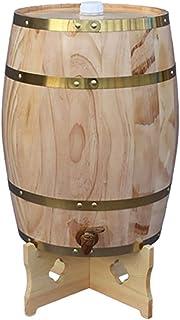 ZHhome Tonneau à vin en Bois Fûts de chêne, fûts de vin verticaux, Distributeur de fûts de vin en Bois de chêne,  for Le ...