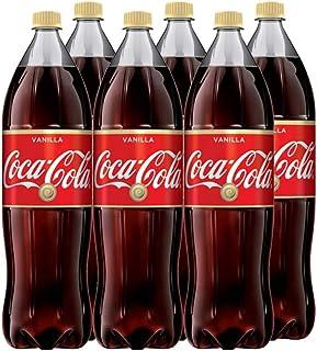 Coca-Cola Vanilla koffie-houdende drank - originele Coca Cola met vanille smaak (6 x 1,75 l)