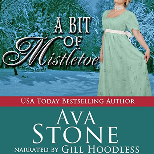 A Bit of Mistletoe audiobook cover art