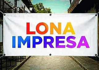 LONA 2X1M. PERSONALIZADA PARA PUBLICIDAD, EVENTOS, FIESTAS.