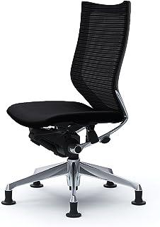 オカムラ オフィスチェア バロン ハイバック オートリターンチェア 肘なし ブラック CP55FR-FDF1