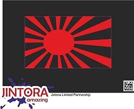 JINTORA - Fireworks Effect - Pegatina Vinilo Impreso para Coche, Carpeta, Moto, Bici, Pared, Puerta, Nevera etc. - 64x99mm