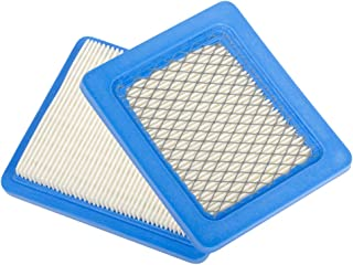 HIFROM(TM Replace Pack of 2 Flat Air Filter Cartridge Replacement for Briggs & Stratton 491588 491588S 4915885 399959 John Deere PT15853 Oregon 30-710