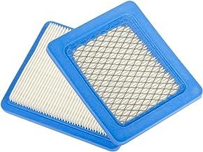 Paquete de 2 filtros de Beehive, recambio de cartucho del filtro de aire plano para Briggs & Stratton 491588491588S 4915885399959JOHN DEERE PT15853 Oregon 30-710