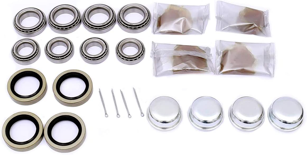 FKG Trailer Bearing Kit for 1-3 8 Sp Nashville-Davidson Mall 1-1 16 Choice Inch to Tapered