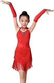 9b105898066 Robe de Filles Été Amlaiworld Enfants Filles Robe de Ballet Latine Fête  Vêtements de