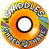 Sector 9 Skiddles Longboard Wheels - 70mm 78a Orange by Sector 9