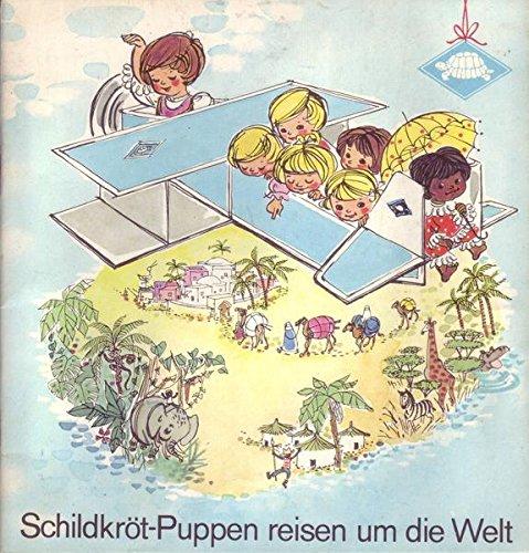 Schildkröt-Puppen reisen um die Welt