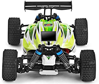 RC Car Wltoys A959-B 2.4G Off-Road 70 Km/H Racing Car 1: 18 Brush Electric Remote Control RC Rechargeable Green