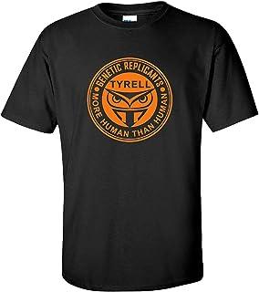Tyrell Genetic Replicants 80s Sci-fi Movie Black T-Shirt